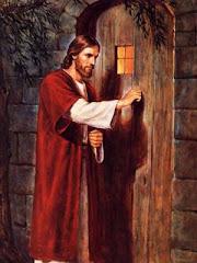 المسيح يدق علي باب قلبك ...