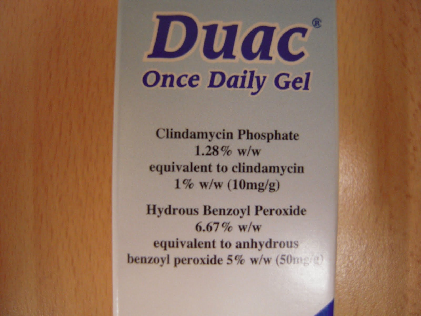How much is duac gel