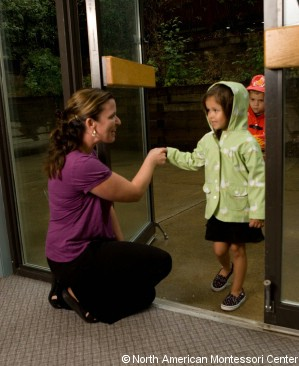 Montessori grace and courtesy modeling behavior can be fun namc one by one they took turns shaking my hand and responded to my greeting with a polite response as they entered the classroom they quietly chose an m4hsunfo