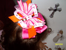 Large Cupcake Birthday Bow