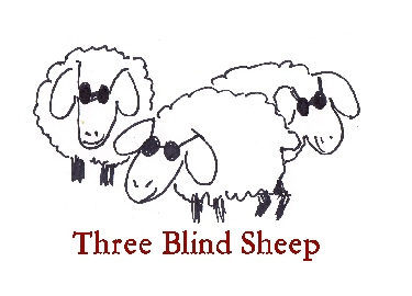 Three Blind Sheep