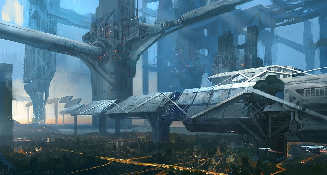 sci fi space stations - photo #25