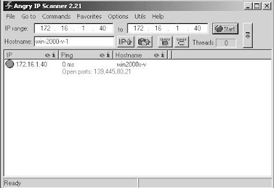 Learn how to scan open ports using angry ip scanner sbxlive info - Open ports scanner online ...