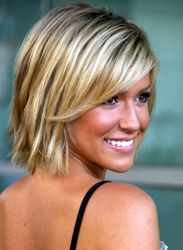 Funky short white hairstyles
