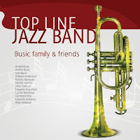 Capa do disco Top Line Jazz Band Busic Family and Friends