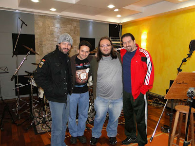 Ivan, Michel, eu e Andria