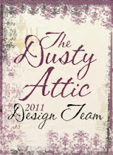 I'm a Design Team member for Dusty Attic