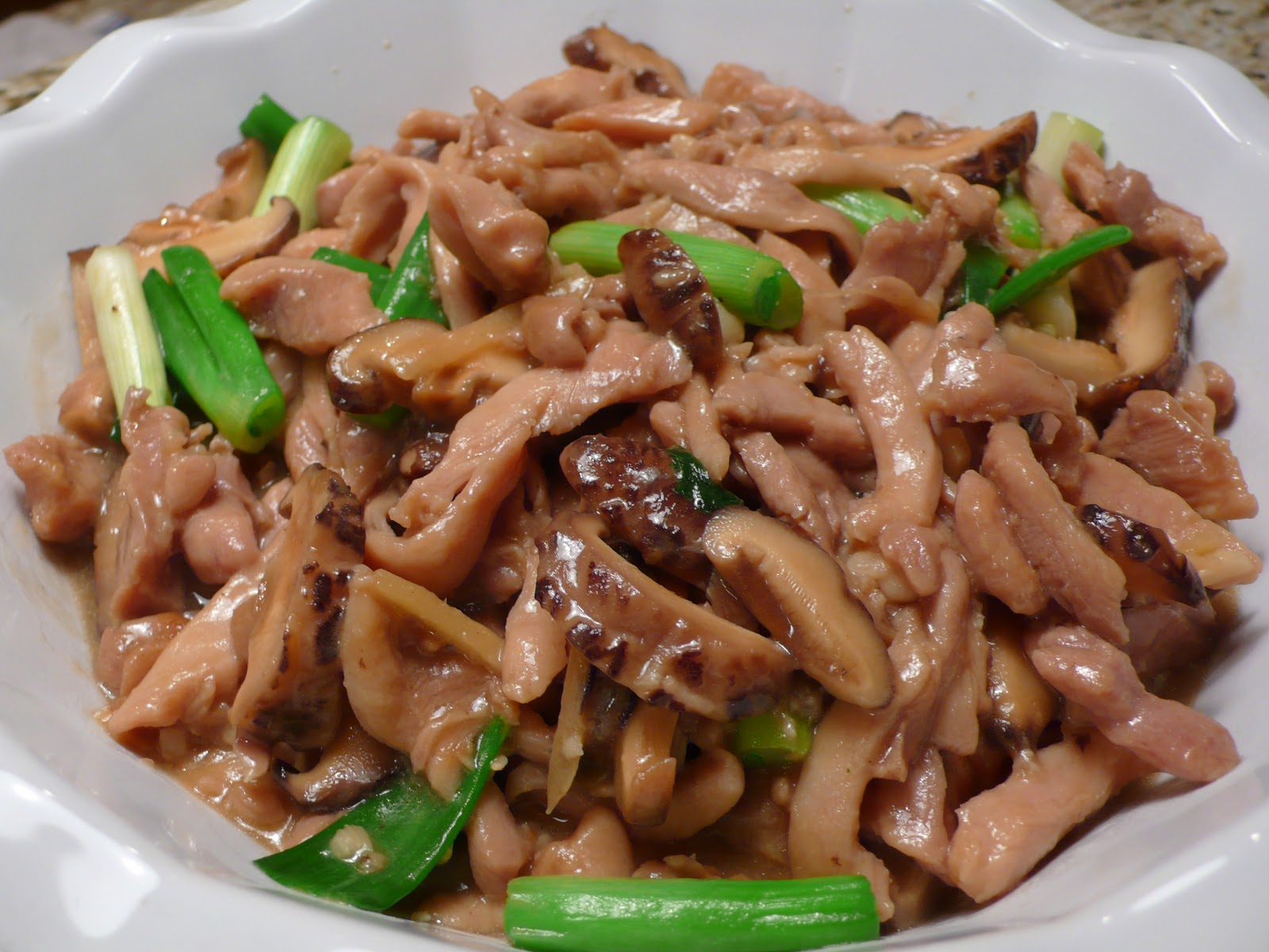 shiitake mushrooms steamed chicken and shiitake steamed chicken and ...