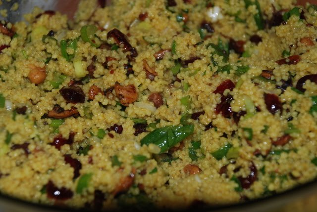 Curried couscous banana recipe
