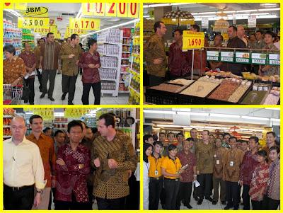... kemarin mengunjungi gerai Carrefour di Karebosi Link dan MTC Karebosi