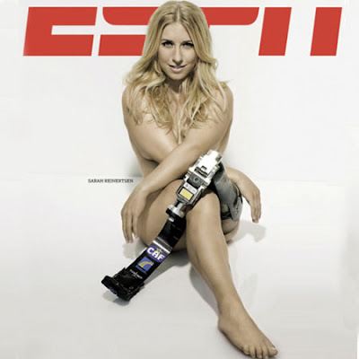 Sara Walsh ESPN Hot http://dorothysurrenders.blogspot.com/2009/10/naked-lady-athletes-monday.html