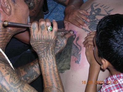 Tatuajes Mágicos - Tailandia