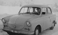1959 Trabant P50, photographed in 1979 - by Pc_fish at Wikimedia Commons - released under Creative Commons Attribution ShareAlike 3.0 License.