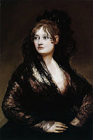 Portrait of Doña Isabel de Porcel, by Francisco de Goya y Lucientes - via Wikimedia Commons - public domain.
