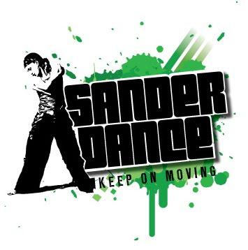 Sander Dance logo. hip hop