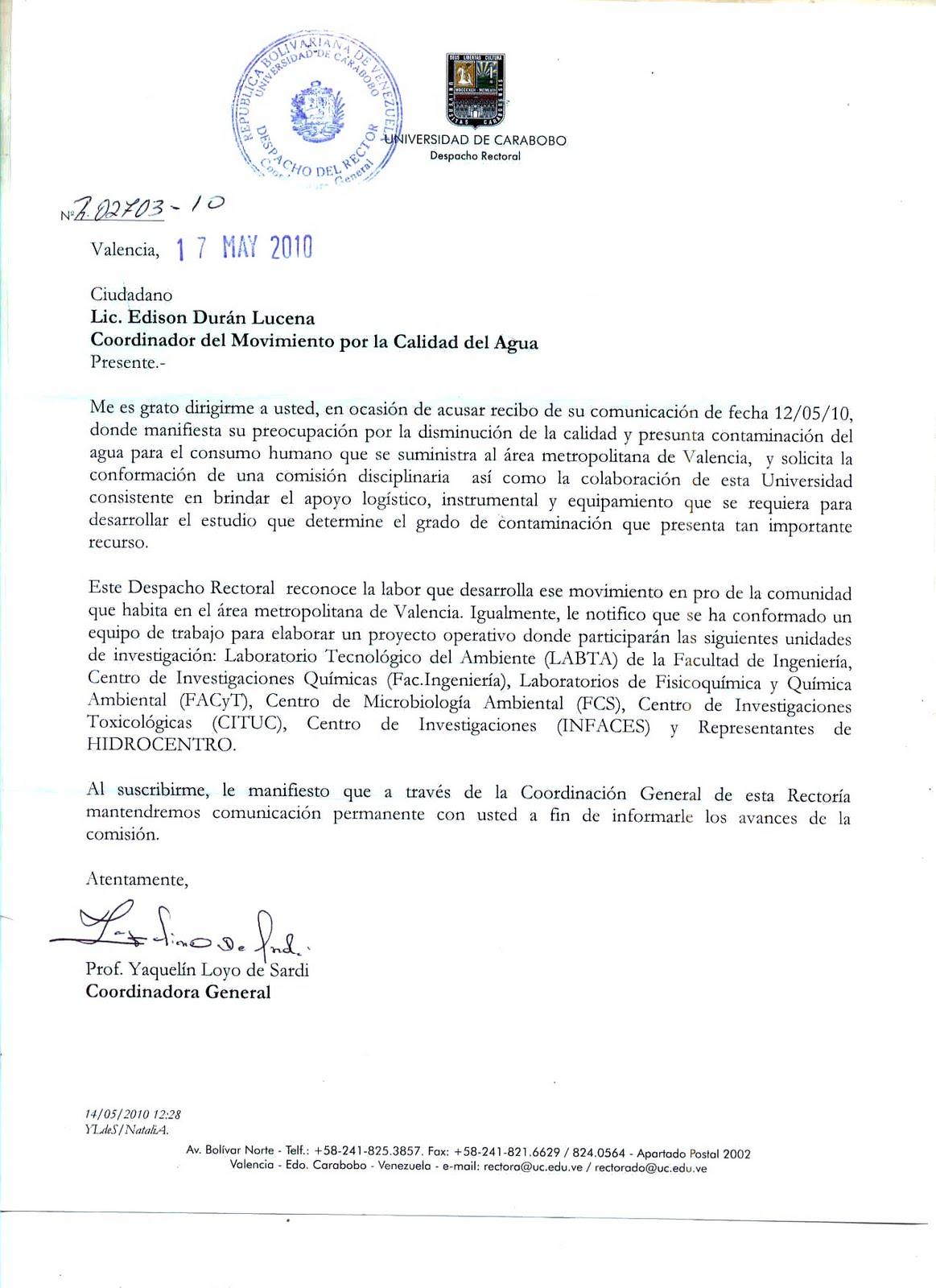 Carta Formal En Espanol Bed Mattress Sale