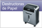destructora de papel