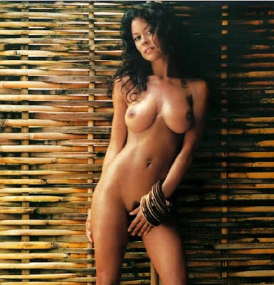 Brooke burke naked with a man
