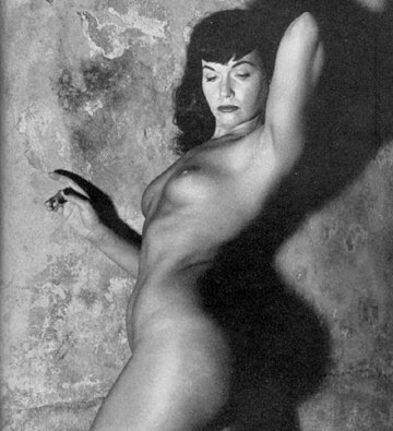The photos show her at her best and are from 1956. Bettie Page nude pic