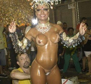 Nude At Rio Carnival