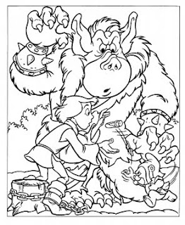 goblin free coloring sheets