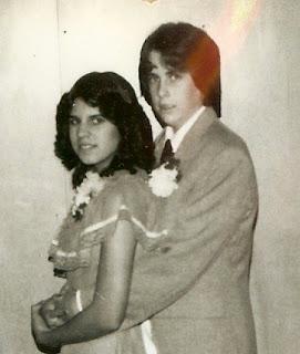 1980s junior high school dance photo