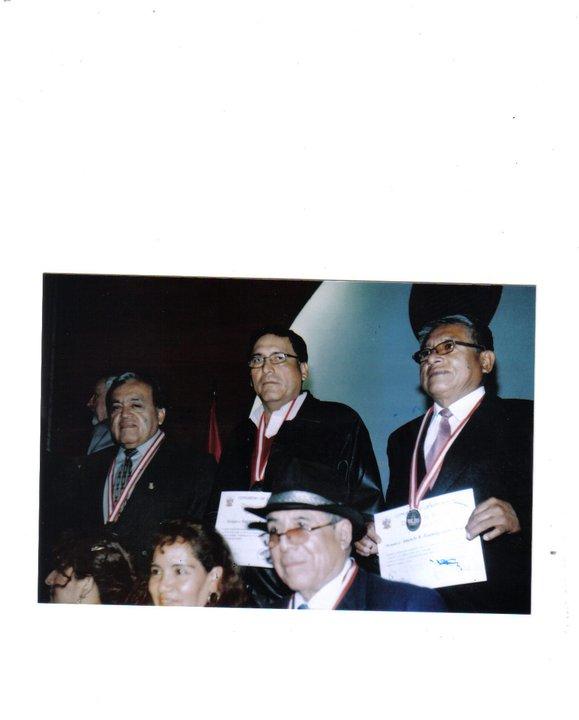 CEREMONIA DE ENTREGA DE DIPLOMA EN CONGRESO DE LA REPUBLICA