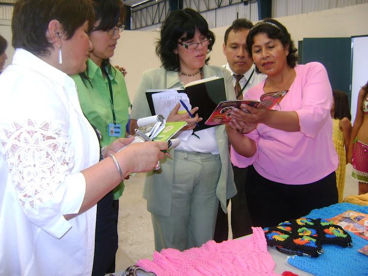 PRE CALIFICACION AL PERU MODA 2010