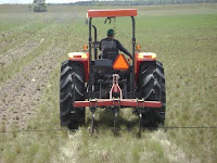 Tractor Exhausts are injected into the soil