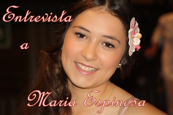 MARÍA ESPINOSA Entrevistaportada