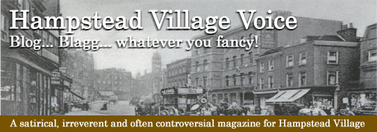 Hampstead Village Voice Blog..Blagg...whatever you fancy!