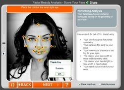 Anface.com - Facial Beauty Analysis