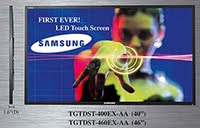 Samsung LED Touch Screen