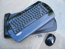 Phantom Wireless Lapboard - Innovative Gaming Keyboard