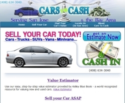 Cars to Cash Website