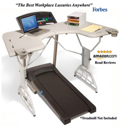 TrekDesk Treadmill Desk Trainer's Best Friend