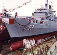 Fragata misilera construida en el Peru