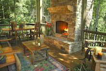 Outdoor Fireplace (Pond House)