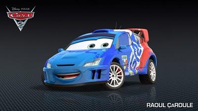 Raoul ÇaRoule - Cars 2 Película