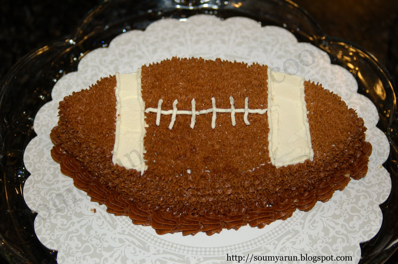 football cake pan Photo