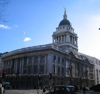 THE CENTRAL CRIMINAL COURT , aka THE OLD BAILEY.