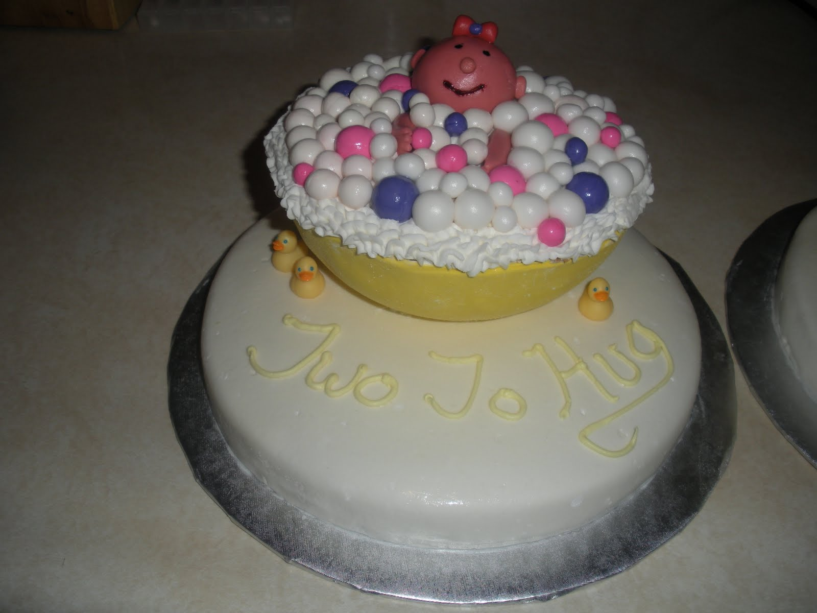 Twin Girls Baby Shower Cakes. Baby Shower Cake Inscriptions. View ...