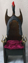 Gothic Dollhouse Chair