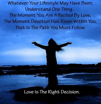 [love+right+decision]