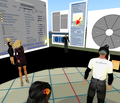Southern Georgia teaching an intermediate session to ISTE members in Second Life