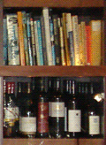 A bookshelf