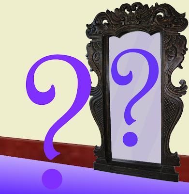 Mirroring the Question - artist ken allan