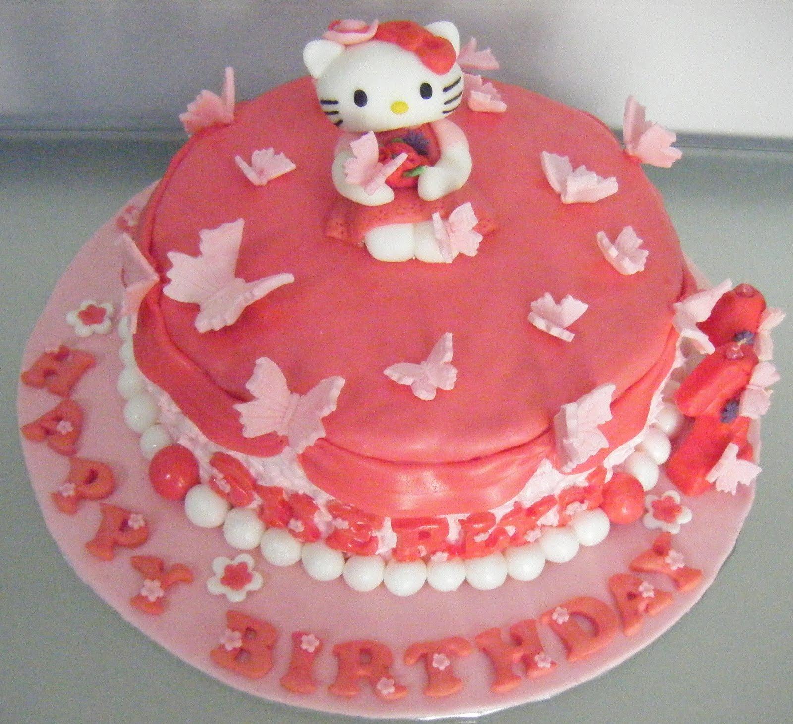 ~~~Ecupcakes~~~: Hello Kitty Cakes