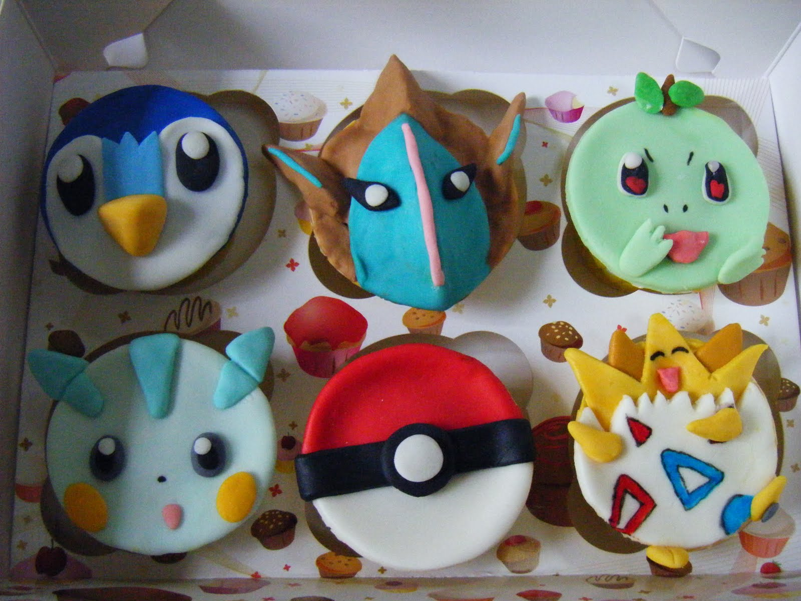 How To Make Pokemon Cupcakes