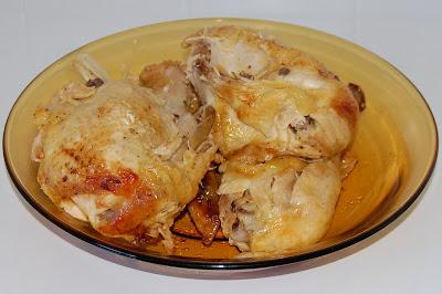 El pollo despiezado